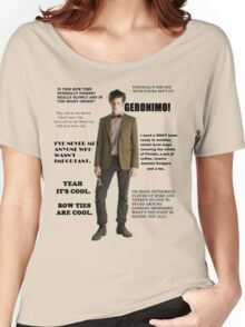 The Best of the 11th Doctor Women's Relaxed Fit T-Shirt