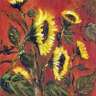 Sunflowers #2 by Halina Plewak