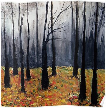 In The Woods #1 by Halina Plewak