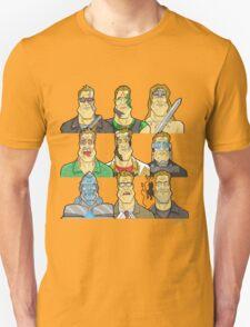 Movie Mugshots - Arnie T-Shirt