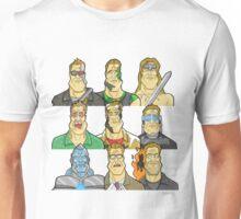 Movie Mugshots - Arnie Unisex T-Shirt