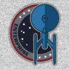 USS Enterprise Refit Patch by justinglen75