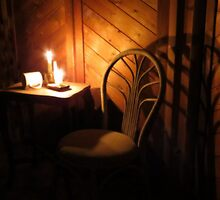Candle Light and Shadows by trueblvr