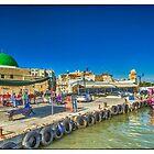 Akko harbor, Israel by Birgit Van den Broeck
