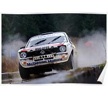 Opel Rally car Poster