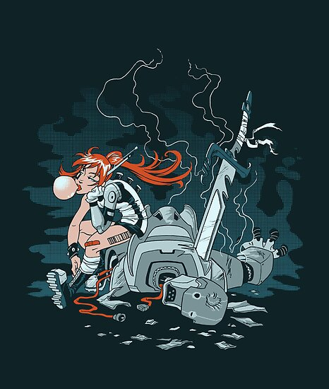 Cyberpunk Beatdown by dooomcat