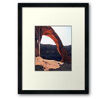 Corona Arch Framed Print