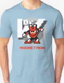 Magnet Man with Red Text T-Shirt