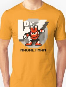 Magnet Man with Black Text Unisex T-Shirt