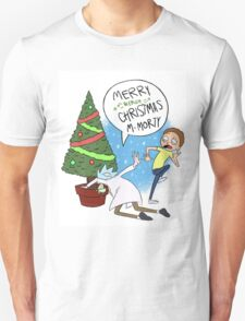 Rick and Morty Christmas Unisex T-Shirt