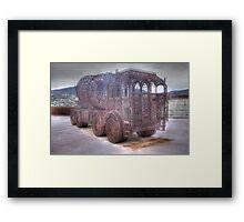 Steel truck Framed Print