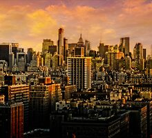 Gotham Sunset by Chris Lord