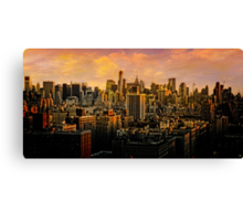 Gotham Sunset Canvas Print