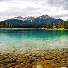 Lake in Jasper  by Jessica Karran