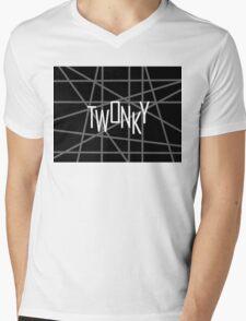 Twonky Thriller Mens V-Neck T-Shirt