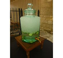 Icewater and Lemons in Austin, TX Photographic Print