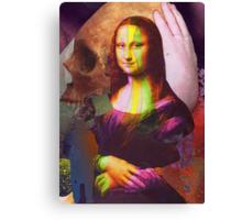 Deterioramento della Gioconda Canvas Print
