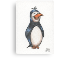 Penguin Friend Canvas Print