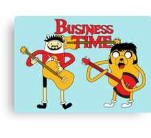 Business Time Canvas Print