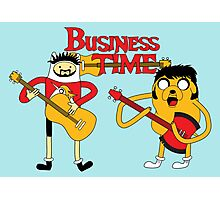 Business Time Photographic Print