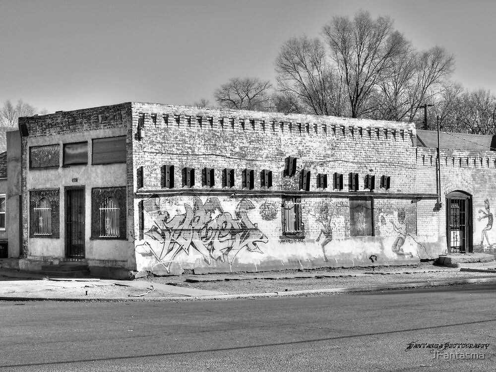 Tracing Pueblo's History Black and White by JFantasma
