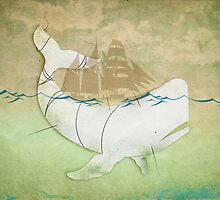 The Ghost of Captain Ahab by vinpez