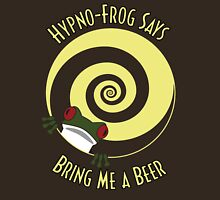 Hypno-Frog (Beer) Unisex T-Shirt