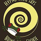Hypno-Frog (Cookie) by Bill Cournoyer