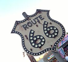 Route 66 Sign by swylie