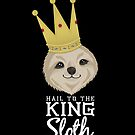 King Sloth Black by JacksonSam
