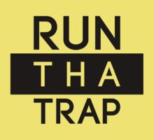 Run Tha Trap Shirt | Fresh Thread Shop [Blk] by FreshThreadShop
