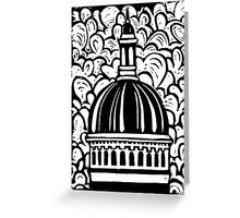 Chapel Dome Greeting Card