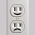 Emotional Electricity Plug Outlet iphone 5, iphone 4 4s, iPhone 3Gs, iPod Touch 4g case by Pointsale store.com
