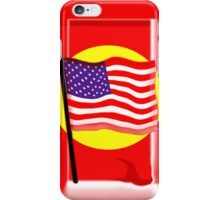 Rippling American Flag, Iphone iPhone Case/Skin