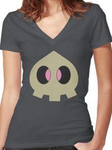 Pokemon - Duskull Women's Fitted V-Neck T-Shirt