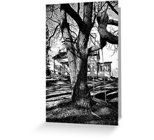 The old homestead.. Greeting Card