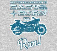 Baby, we were born to run! (Grunge Version) Kids Clothes