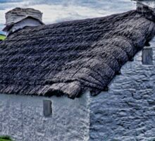Thatched Cottage, Isle of Man Sticker