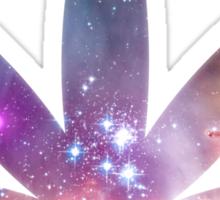 Cosmic Leaf Sticker