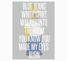 Blue Jeans Lana Del Rey/Homer Simpson tee  by symptoms