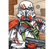 Beehive Storm Trooper  Photographic Print