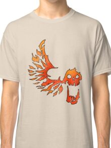 Bandit Flame Wing Skull Classic T-Shirt