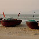 Vietnamese fishing boats by supergold