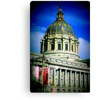 Architecture in San Francisco Canvas Print