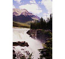 Athabasca Falls Jasper, Canada Photographic Print