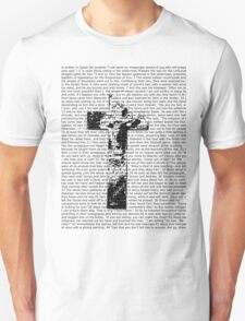 Cross Typography  T-Shirt