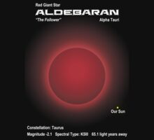 Aldebaran - Red Giant Star by Samuel Sheats