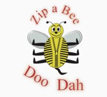 Zip a Bee Doo Dah T-shirt by Dennis Melling