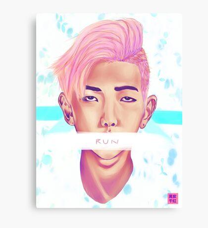Kim Nam Joon - Pastel Canvas Print