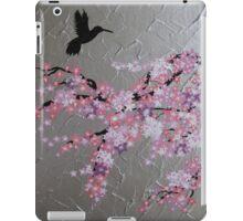 blossom with hummingbird iPad Case/Skin